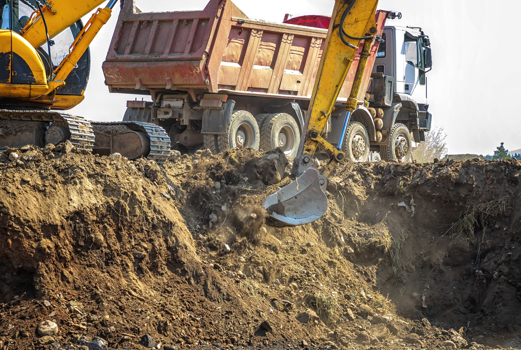 What is earthwork excavation?