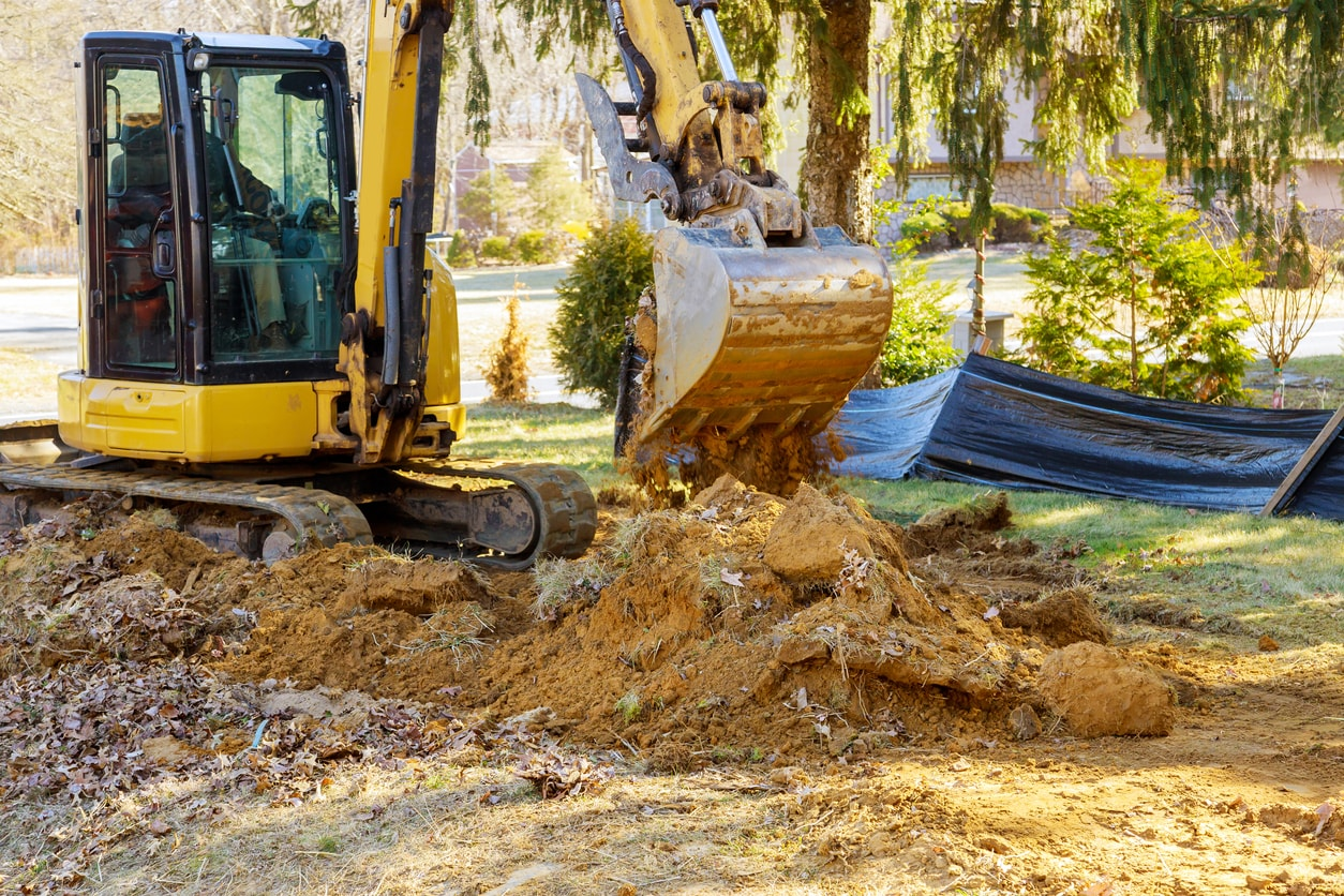 How many types of excavation are there?
